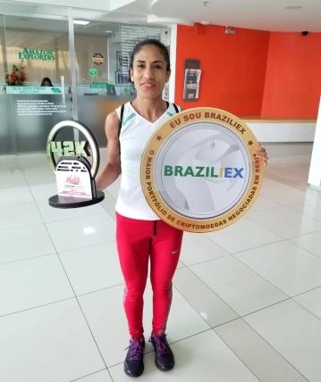Cristiane Alves Silva, 1º lugar do percurso de 42 KM