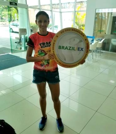 Márcia da Silva Magalhães, 2º lugar do percurso de 42 KM