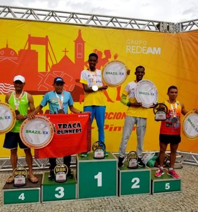 Vencedores do percurso de 42 KM